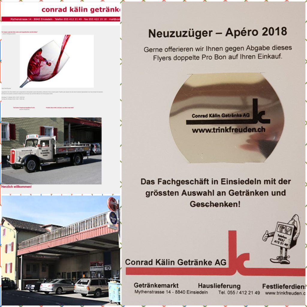 NZZ2018 - Geschenkli Conrad Kälin Getränke